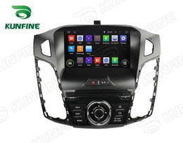 2019 ford focus construído gps Quad Core 1024 * 600 Tela HD Android 5.1 Car DVD Player de Navegação GPS do Carro Estéreo para Ford Focus 2012 Rádio 3G wi-fi ford focus construído gps barato
