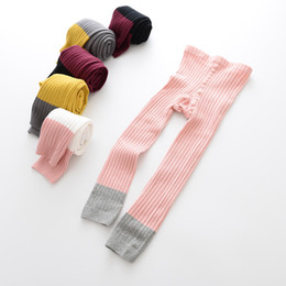 Wholesale Mixed Toddler Girls - New Fashion Spring Summer Kids Children Toddler Popular Socks Popular Baby Girls Princess Mixed color Cotton Ankle length Leggings 1-8 years