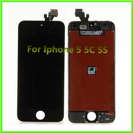 Wholesale Cheap Pixel Screen - LCD For Apple Iphone 5S Accessories Cheap Display Iphone 5 Cell Phone Parts Iphone 5C LCD Digitizer Assembly Touch Panels Not Dead Pixels