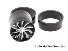 Wholesale Turbonator Intake Fan - Universal Fit Turbo Single Fan Air Intake Fuel Saver Fan TURBONATOR