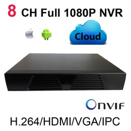 Wholesale Dvr Ip Channel - mini Full HD 1080P CCTV 8CH NVR For IP Camera Security System ONVIF H.264 HDMI Network Video Recorder 8 Channel Support multiple languages