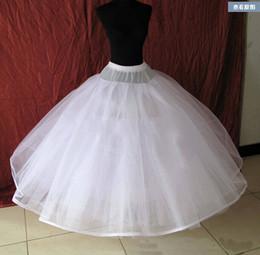 Wholesale Crinoline Net White - 6 layers net Plus ball gown dress Crinoline Petticoat Underskirt waist with elastic