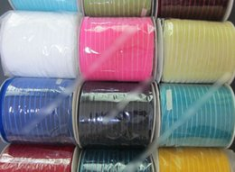 Wholesale Colors Side - 800yards   3 8'' 10mm ( None stretch ) single sided nylon velvet ribbon DIY accessories 240 colors