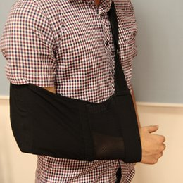 Wholesale Medical Surgery - Deluxe Adjustable Breathable Medical Shoulder Arm Sling Clavicle Fracture Surgery Support Shoulder Dislocation Broken Arm