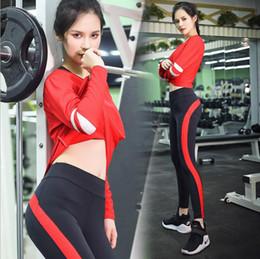 Wholesale Female Suit Fashion - 2017 autumn and winter yoga suit suit female sports fashion yoga fitness clothes