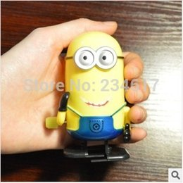 Wholesale Toy Robot Wind Up - Wholesale-Wind up toys robot precious milk dad Xiao Huang person doll VINYL hand model animation around toys