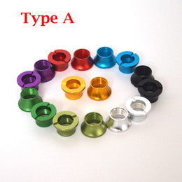 Wholesale Ego Connectors - Fast Shipping Colorful Beauty eGo Rings E Cig Accessories eGo Battery Thread Cone eGo Connector the U-DCT Adapter 510 to eGo Threading