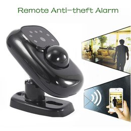 Wholesale home theft alarm - Real-time Remote Monitor Infrared Camera Anti-theft Alarm System F-300 for Home Warehouse Office Security Detects Moving + Sound