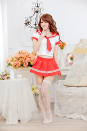 Wholesale Loading Sexy Play - Japanese and Korean students loaded game uniforms temptation role playing sexy red lingerie sleepwear factory direct supply
