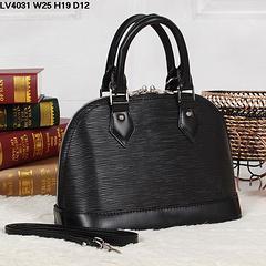 Wholesale Handbags Bb - Top quality women genuine Leather epies alma BB 25cm handbag shoulder bag tote purse