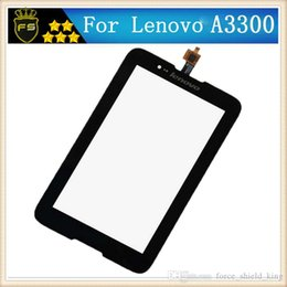 Wholesale Origins Pc - For Lenovo A7-30 A3300 Tablet PC Glass Touch Panle a3300 New Black Touch Screen digitizer Origin high quality