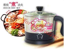 Wholesale Multi Cookers - Wholesale-Electric egg noodle boiler, electric cooker   multi-function electric boiling   Hot pot   mini noodles cooker