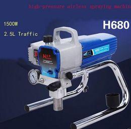 Wholesale Pressure Paint Sprayer - Airless Paint Sprayer H680 Wall Painting Spraying High Pressure painting tool