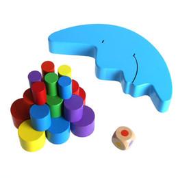giocattoli di luna Sconti Giocattolo d'apprendimento precoce di Toy Building Blocks Toy New Shape di legno della luna del bambino