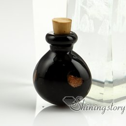 Wholesale Jewelry Vial Charm - small glass vials wholesale urn charms pet cremation keepsake jewelry ashes