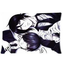 Wholesale Black Butler Sebastian Michaelis - LUQI Sebastian Michaelis Black Butler Pillow Case 20x30 Inch Comfortable For Lovers And Friends Gifts Pillow Cover