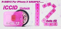Wholesale T Mobile Wholesales - R sim 12 rsim12 rsim sim12 ICCID Unlocking for USA T-mobile,ATT iPhone7,7plus, ios10. for iphone5s,6,6s,6+,6s+ ios10.x 11.x