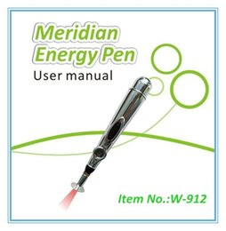 Wholesale Acupuncture Free Shipping - New Electric Acupuncture Magnet Therapy Heal Massage Pen Meridian Energy Pen without battery For Free Shipping