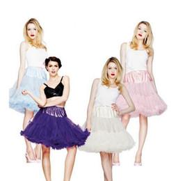Wholesale Ballet Tutu Dance Costume - dance Costume Ball gown tutububble skirt Dresses Women Girl Adult Tutu Ballet Dancewea Bubble Skirts Pettiskirt HT70