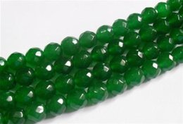 """Wholesale Faceted Gemstones - 4mm Natural Emerald Faceted Loose Beads Gemstone 15""""AAA"""