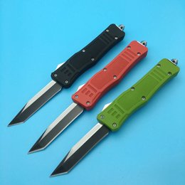 Wholesale Single Cut - New 616 Single Blade tanto blade 6 Styles three color Cutting Tool Scarab A162 A161 camping ourdoor survival knife knives