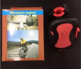 Wholesale Motorbike Case - Hot Universal X2 Bicycle bike phone Bracket Handlebar Clip Mount Holder Mobile Phone Motorbike Holder Stand For iPhone Samsung Case