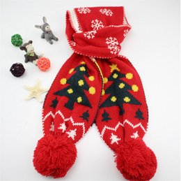 Wholesale Crochet Flower Girls Scarf - 2015 New Baby Girls Tassel Crochet Scarf Children's Muffle Fashion Handmade Flower Knitted Scarf SD369 Child Accessories Kids Scarves Wraps