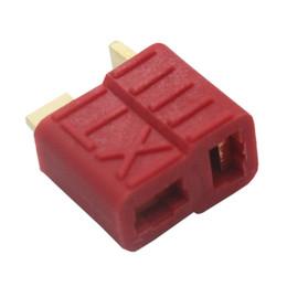 Canada 10 paires NEUF DEANS STYLE XT PLUG NYLON T-CONNECTOR Glissade dorée T plug Anti-dérapant pour RC ESC batterie Offre