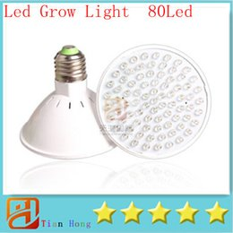 Wholesale Hydroponic Plant Red - 2PCS 10W E27 UFO led grow light RB 80leds 60Red:20 Blue Nursery Lights For Hydroponic system and flowering Plant