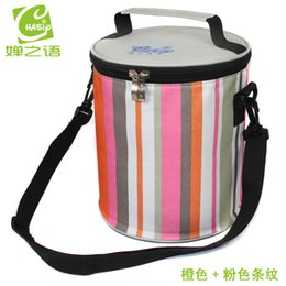 Wholesale Ice Bag Insulation - Wholesale-2015 insulation package drum cooler bag ice pack lunch bags lunch bag