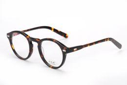 Wholesale Free Prescription Eyeglasses - 2017 Brand design retro vintage brand Moscot miltzen johnny depp prescription glasses optical eyeglasses spectacle frame free shipping