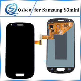 Wholesale Galaxy S Replacement Lcd - Best Quality LCD Touch Display Digitizer Assembly Screen Replacement For Samsung S3 Mini i8190 Free Shipping
