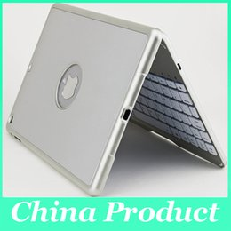 Wholesale Covers Para Ipad - Colorful Backlighting bluetooth keyboard For ipad air case Aluminium alloy teclado para Smart Cover for ipad air with Stand Gold 010242