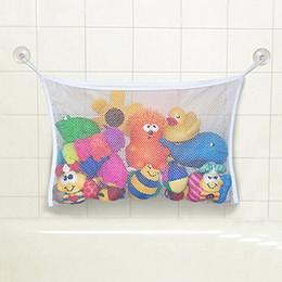 Canada Vente en gros- HOT bébé jouet maille sac de rangement baignoire baignoire poupée organisateur aspiration salle de bain substance net 91MG supplier bath toy storage bag Offre