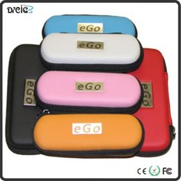 Wholesale Wholesale E L F - Ego zipper case ego leather bag for ego-t ego-w ego-F e cigarette carry bag 10 colors with Zipper L M S Size Free best price and quality