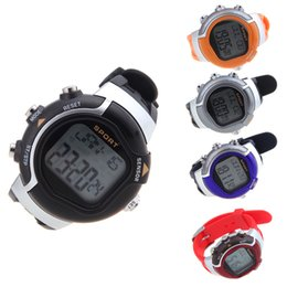Wholesale Calories Heart Rate - Men Women Dress Watches 5 Colors Irregular Monitor Pulse Wristwatches Heart Rate Calorie Counter Exercise Gym Sport Watch