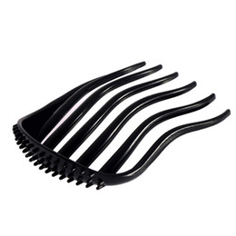 Wholesale Hair Bun Clip Ponytail - Wholesale- Useful Ponytail Inserts Hair Clip Bun Maker Bouffant Volume Hair Comb Women Fluffy Pony Tail Styling Tools