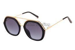 Wholesale Outlet Goods - 2016 New Vintage Hexago Design Sunglasses Mens Or Womens Sun Glasses Frame Good Quality Factory Outlets Free Shipment