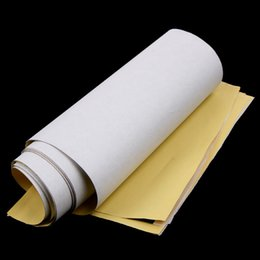Wholesale Tattoo Sleeve Stencils - 10Pcs Transfer Paper Tattoo Sticker 4 Layers Professional Tattoo Stencil Transfer Paper