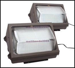 Wholesale Outdoor Floodlight Fixtures - LED Wall Pack 110V 60W fixture light FloodLight 7000LM Wash Lamp Energy Savings efficient FACTORY DIRECT building outdoor lighting LLWA016