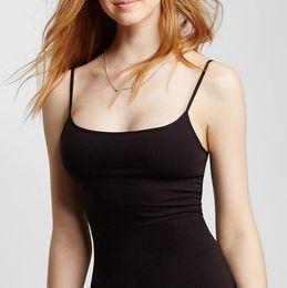 -Pink Lady Women Solid Basic Shelf Cami sexy top Sleeveless spaghetti strap tank  top strappy bra plus size JL15090601 9bd53751ad2e