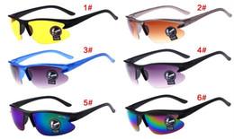 Wholesale Cheap Polarized Sunglasses Wholesale - New Arrival Cheap Night Vision Goggles Sunglasses Driving Cycling UV Polarized Sunglass Sport Glass New Brand Men Sun Glasses Good Quality