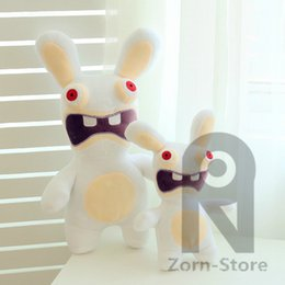 Wholesale Video Games Play - Zorn Store-Rayman Raving Rabbids cartoon plush doll play house toys 5.9-9.8-inch Screaming Rabbid for the children Christmas Gifts