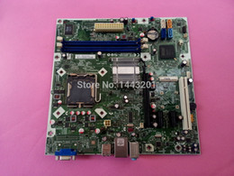 Wholesale Desktop Amd Motherboard - Wholesale-100% Tested Free shipping For HP H-IG41-uATX Desktop motherboard REV:1.1 G41 500B LGA 775