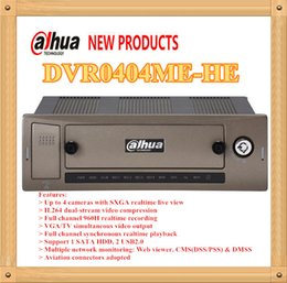 Wholesale Dahua Dvr 4ch - DAHUA 4ch 960H Mobile Standalone DVR Orignal English Version without Logo DVR0404ME-HE