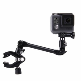 Wholesale Stands For Guitars - Sports Camera Accessories 360 Degree Adjustable Guitar Bass Violin Music Instrument Stand Mount for Action Camera HERO 5   4  3+SJ4000