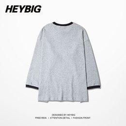 Wholesale Hip Hop Dancer Dress - 2015 Autumn Winter sweatshirts men fashion hip hop cotton men sweatshirts print dress skate bboy street dancer clothing GD