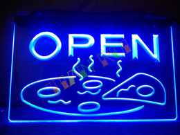 Wholesale Led Neon Sign Display - LB496-b OPEN Pizza Display Cafe NEW NR Neon Light Sign hang sign home decor shop crafts led sign.jpg