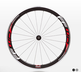 Wholesale carbon alloy rims wheelset clincher - 23mm width 700C(38mm) clincher rim alloy brake surface Road bike carbon wheelset 3K glossy carbon bicycle wheelset with ceramic bearing hubs