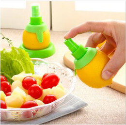 Wholesale Spray Lemon Juice - Creative Gadgets Lemon Sprayer Mutfak Fruit Juice Citrus Spray Cooking Tools Kitchen Fruits Accessories CCA7857 1000pcs